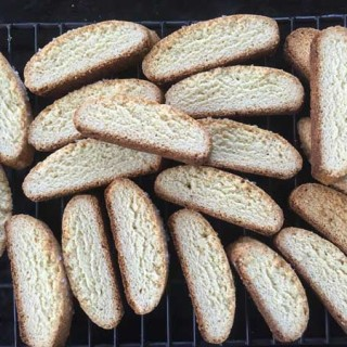 Anise Biscotti for the New Year