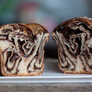 babka made with crescent dough