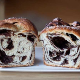 Sour Cream Chocolate Babka