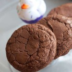 Dark Chocolate Brownie Cookies