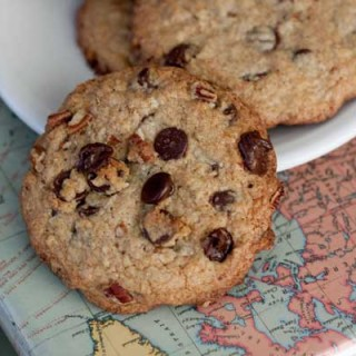 wheat germ chocolate chip cookies