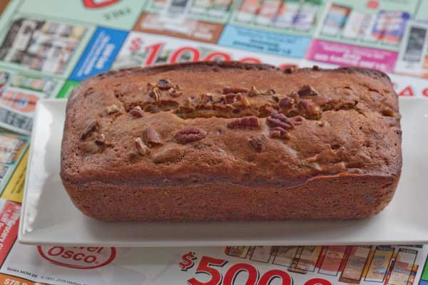 Tunisian Date Nut Bread