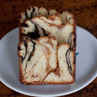 Chocolate Peanut Butter Babka
