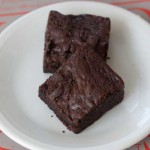 Fudge Brownies with Cocoa Powder
