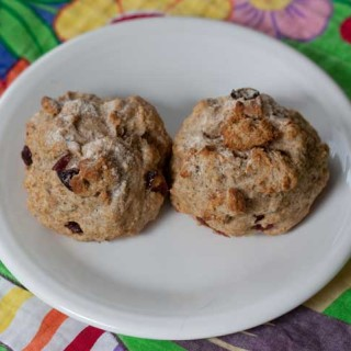 Soda Bread Buns with Fennel Seeds and Cranberries