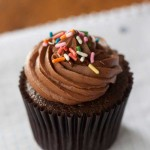 Brown Sugar Chocolate Cake Cupcakes
