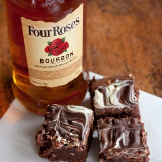 Four Roses Bourbon Scented Brownies