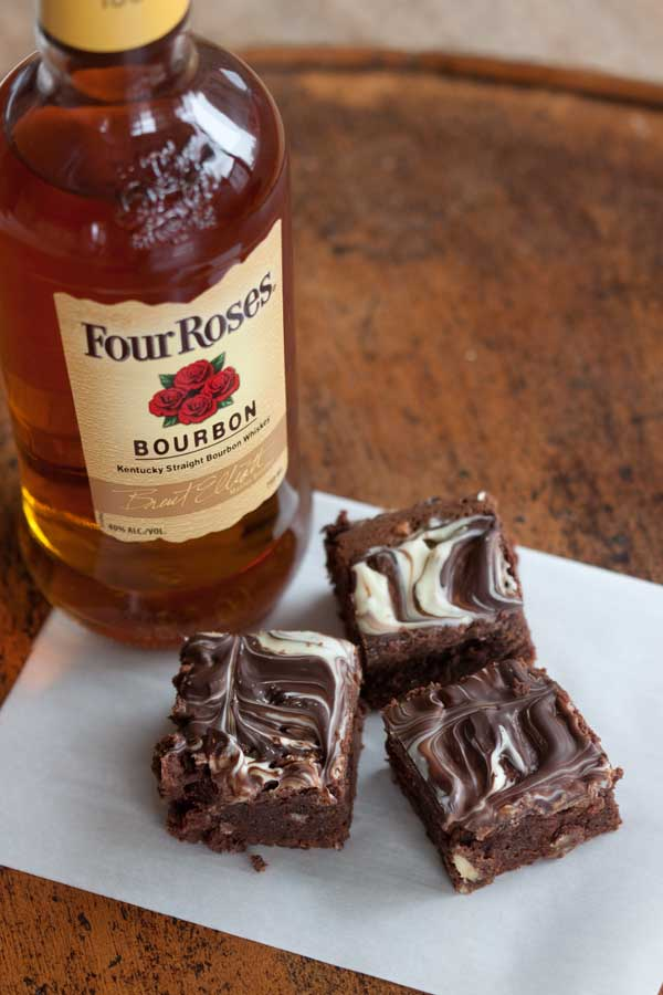 Best Chocolate Scented Flowers: Four Roses Bourbon Scented Brownies