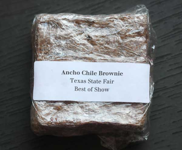 Ancho Chile Brownies - Cookie Madness