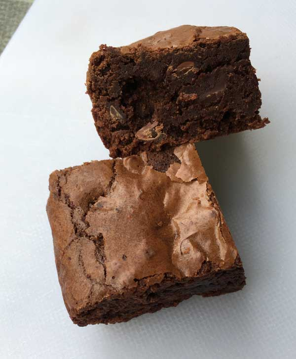 chocoholic chile brownies