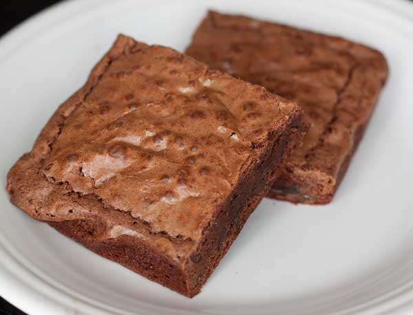 Ancho Chile Brownies