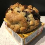 roasted flour chocolate chip cookie