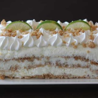 Coconut Lime Ice Cream Loaf