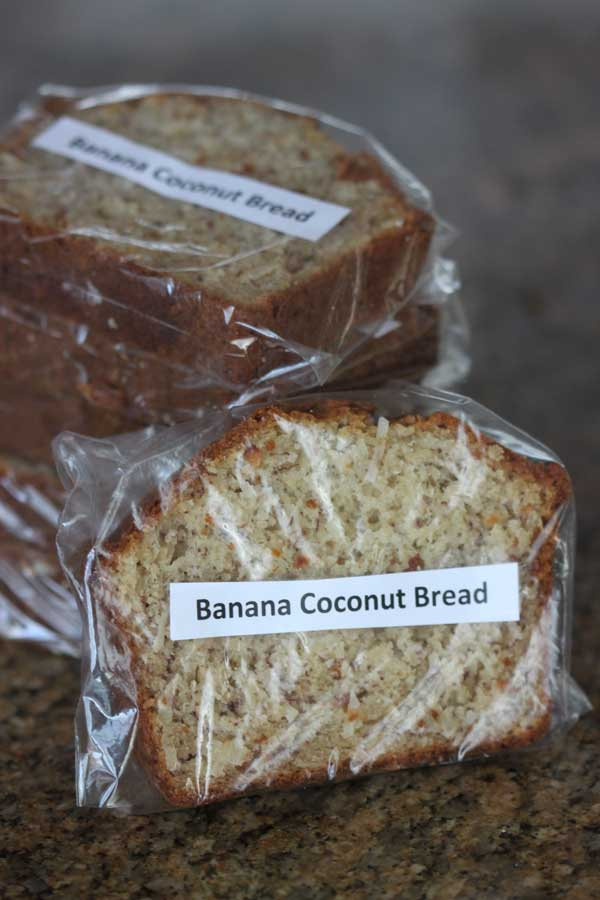 coconutmilk banana bread