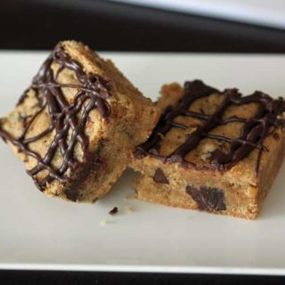 Gluten Free Peanut Butter Chocolate Chunk Bars