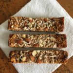 Toasted Quinoa Cashew Cranberry Bars