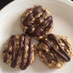 chocolate covered banana cookies