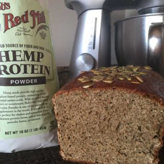 Hemp Protein Powder Bread
