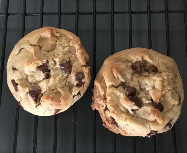 date paste chocolate chip cookies