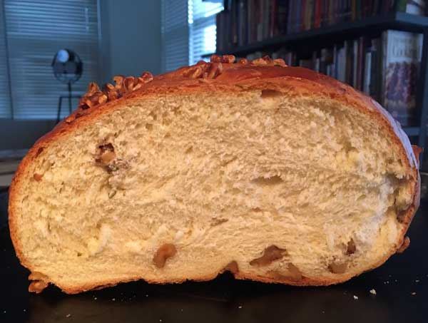 rosemary walnut bread