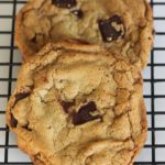 crinky chocolate chip cookies