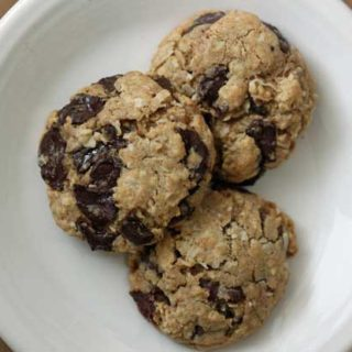 Chewy Coconut Chocolate Chip Cookies
