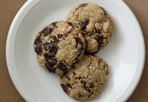 Chewy Coconut Chocolate Chip