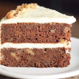 Two Layer Chocolate Carrot Cake