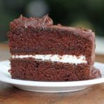 dark brown sugar chocolate cake