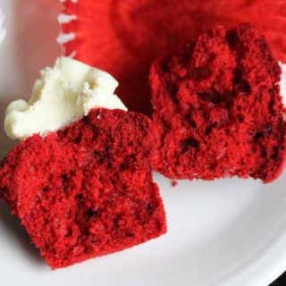 Holiday Favorites Red Velvet Cupcakes