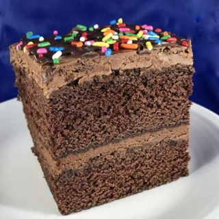 Ruth Reichl's Rectangular Chocolate Layer Cake