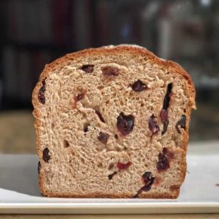 Basic Raisin Bread or Cranberry Bread