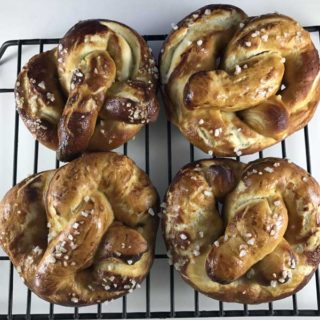Homemade Soft Pretzels with Beer