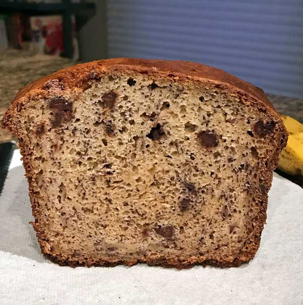 banana bread with sour cream and oil
