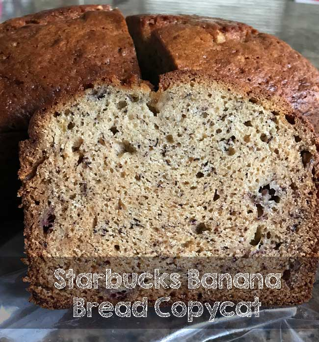 Starbucks Banana Bread Copycat