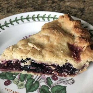 Minute Tapioca Cherry Pie