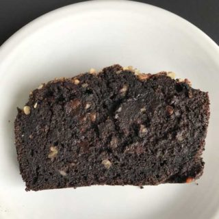 Cinco de Mayo Dark Chocolate Banana Bread