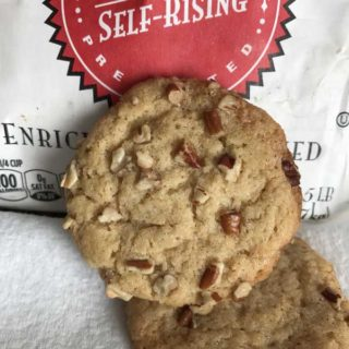 Self-Rising Flour Butter Pecan Cookies