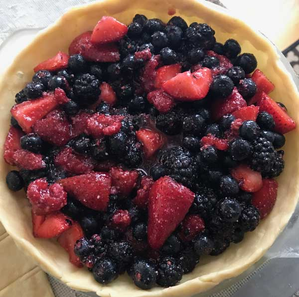 Four Berry Pie