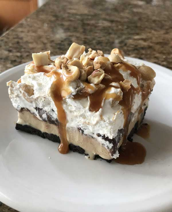 frozen chocolate mud pie