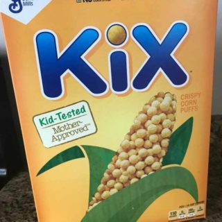 Kix Cereal Bark