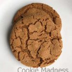 canola oil ginger cookies
