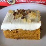 Harvest Pumpkin Bars
