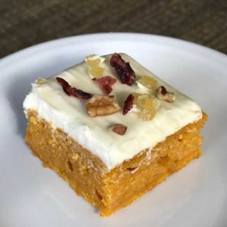 pumpkin harvest bars