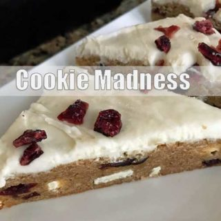 Small Batch Cranberry Bliss Bars Copycats