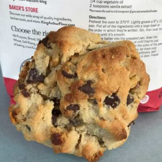 Convection Toaster Oven Chocolate Chip Cookies