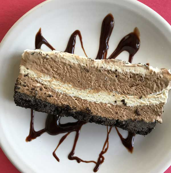 Frozen Mocha Cheesecake Loaf