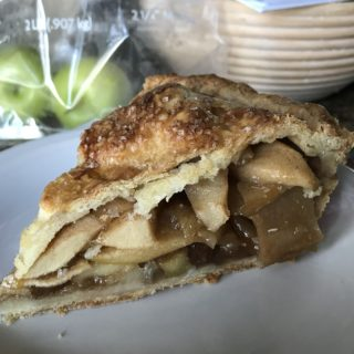 no fuss apple pie