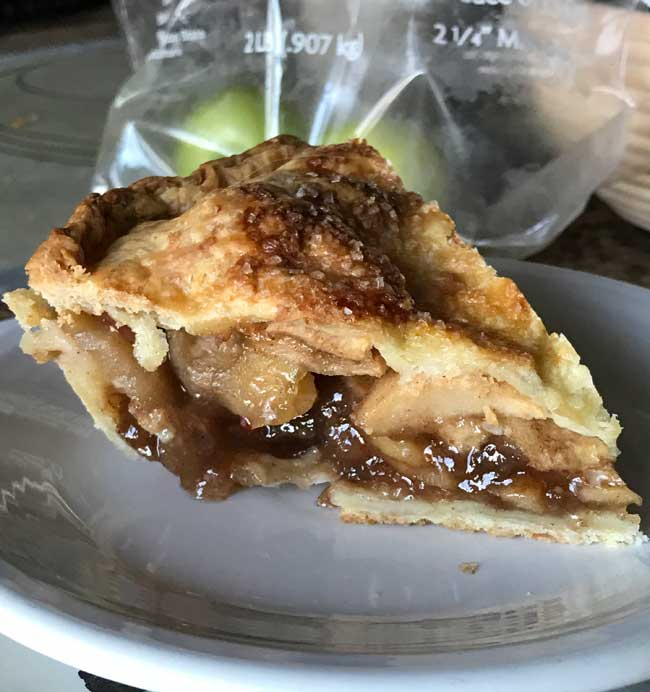 No-Fuss Apple Pie