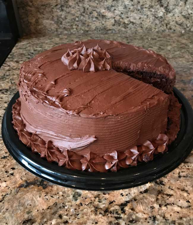 Sandys Chocolate Cake
